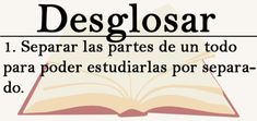 vocabulario The Words, More Than Words, Cool Words, Spanish Vocabulary, Grammar And Vocabulary, Spanish Words, Spanish Quotes, Pretty Words, Beautiful Words