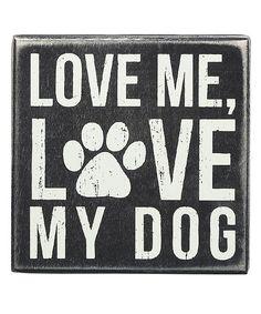 My #Dog' Wall Sign