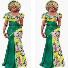 """""""Beauty begins the moment you decide to be yourself."""" """"colorado mix floral dress"""" Modelled by for magazine. Ankara Skirt And Blouse, African Maxi Dresses, African Dresses For Women, African Attire, African Wear, African Women, African Lace, African Fashion Designers, African Fashion Ankara"""