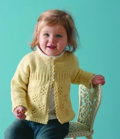 Girl's Knit Cardigan Sweater