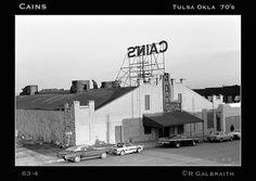 Cain's Ballroom in Tulsa, Oklahoma c. 1970s © Richard Galbraith