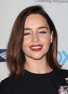 Emilia Clarke at TheWrap's 2015 Power Women Breakfast. http://beautyeditor.ca/2015/11/04/best-beauty-looks-lea-seydoux