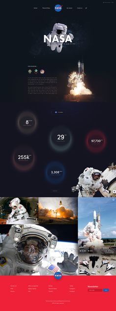 NASA Website Design