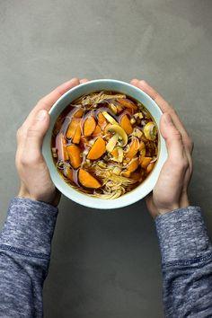 Dark Noodle Soup