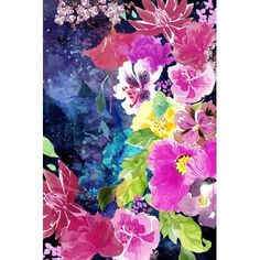 "Varick Gallery Everlasting Flowers Painting Print on Wrapped Canvas Size: 26"" H x 18"" W x 1.5"" D"