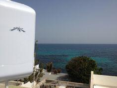 Instalación #WiFiCanarias #AirInternet en Punta Mujeres, zona norte de la isla #Lanzarote