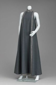 1960-69 Womans evening dress. Geoffrey Beene, from the Museum of Fine Arts, Boston