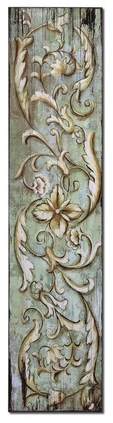 maybe spare bedroom closet doors? Tole Painting, Painting On Wood, Art Vintage, Painted Boards, Decoupage Paper, Hand Painted Furniture, Wood Carving, Wood Art, Wood Crafts