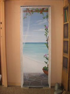 Trompe l'oeil su pannello. www.lozoodipietra.it