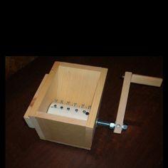 Homemade grinder