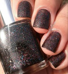 Pure Ice nail polish in Private Show. A slightly goopy formula but a pretty, sparkly polish that looks best with a shiny top coat. Cora from Vintage or Tacky says that Private show is a dupe for Butter London Black Knight. Check out the link below to watch her video:  https://www.youtube.com/watch?v=uT-CywAlaMU