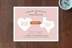 Moving Announcements & Moving Cards | Minted