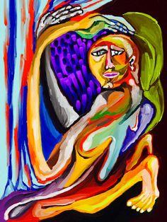 'Barbas de Mujer Derretida dentro de su Vientre' by Rony.