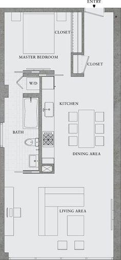 Quarto e sala
