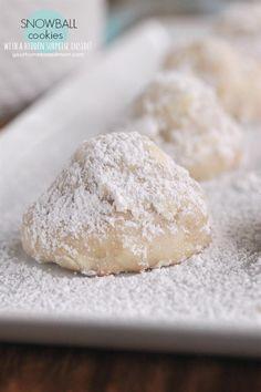 Snowball Cookies - with a surprise hidden inside!