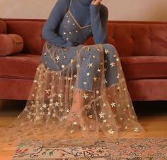 Summer Sweet Tulle Spaghetti Straps See Through Long Women Dresses Fashion Bling Bling Dress - Mode Trend Bling Dress, Look Fashion, Womens Fashion, 90s Fashion, Fashion Belts, Fashion Pics, Lolita Fashion, Star Fashion, Unique Fashion