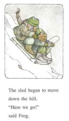 December 22nd – Frog and Toad All Year by Arnold Lobel | tygertale