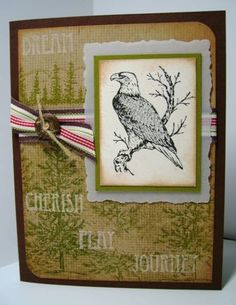 Eagle Birthday by Phantom - Cards and Paper Crafts at Splitcoaststampers