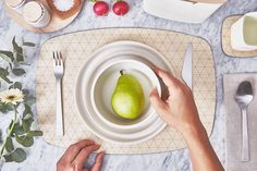 Add some style to your next #dinner party with the Reversible Maple #Placemat by Grovemade.