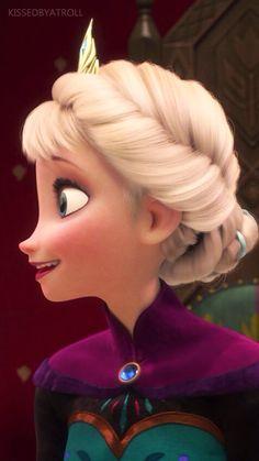 Disney phone wallpapers - Frozen - Right Side #DisneyFrozen