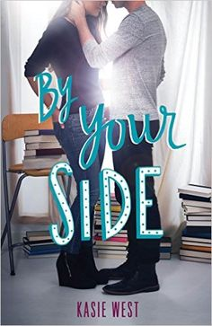 By Your Side by Kasie West is one of the year's popular young adult books to read, about a girl and a guy who get locked in a library together.
