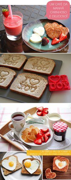Super corações comestíveis #coma com amor