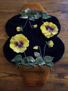 Unique design for a candle mat