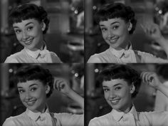 Audrey Hepburn - Roman Holiday. The movie which first inspired me to chop it all off.