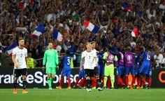 Frankreich siegte nur bei der WM 1958 gegen die Deutschen bei einem großen Turnier...bis heute !! Das letzte Duell im Viertelfinale der WM 2014 gewann Deutschland und wurde dann Weltmeister !!