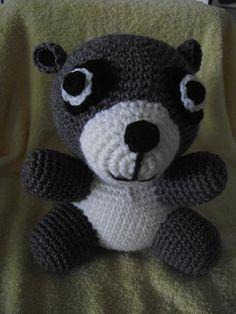 Crocheting: Woodland Animals - Racoon