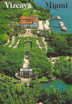 Vizcaya, Miami. This place looks amazing!