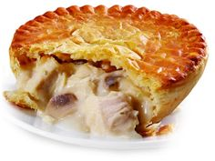 Order your Chicken and Mushroom Pie from our Savouries section, online or in store today. High quality baked produce - buy now. Savory Pastry, Flaky Pastry, Marmite, Pie Recipes, Cooking Recipes, Savoury Recipes, Yummy Snacks, Yummy Food, Chicken And Mushroom Pie