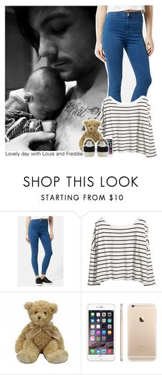 """""""Lovely day with Louis and Freddie"""" by perfectharry ❤ liked on Polyvore featuring Topshop, H&M and adidas"""
