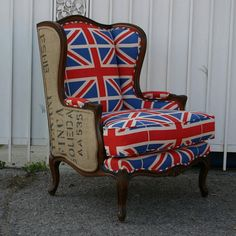 Henry Road Union Jack Armchair