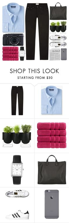 """Date Night"" by igedesubawa ❤ liked on Polyvore featuring Acne Studios, MANGO, Authentics, Christy, Larsson & Jennings, Fujifilm, Fortu Milano, adidas Originals, men's fashion and menswear"