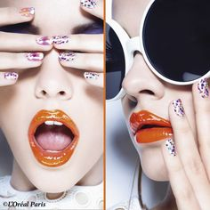 Miss #Pop declares trumps: the summer will be #flashy! If you want to have a slightly acid look, dare to wear Pop make-up... http://www.livecoiffure.com/fr/posts/23647-make-up-pop#sthash.Jc1OjLEy.qjtu