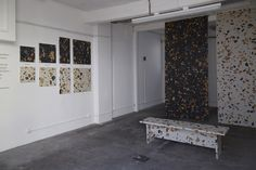 Marmoreal by Max Lamb for Dzek - London Design Festival, 2015