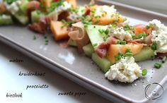 Meloen met ham <3 www.mieenplace.be