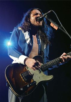 John Frusciante playing live, somewhere and sometime in 2003.
