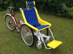 """Duet Wheelchair Bike - The """"Go-Anywhere"""" Wheelchair Bicycle Tandem for disabled 