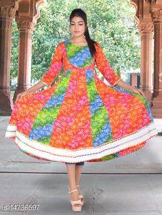 Kurtis & Kurtas SS SANGANERI Printed Rayon Kurti Fabric: Rayon Sleeve Length: Three-Quarter Sleeves Pattern: Printed Combo of: Single Sizes: S (Bust Size: 36 in, Size Length: 50 in)  XL (Bust Size: 42 in, Size Length: 50 in)  L (Bust Size: 40 in, Size Length: 50 in)  M (Bust Size: 38 in, Size Length: 50 in)  Country of Origin: India Sizes Available: S, M, L, XL   Catalog Rating: ★4.2 (1220)  Catalog Name: Chitrarekha Voguish Kurtis CatalogID_2925177 C74-SC1001 Code: 307-14736597-8091