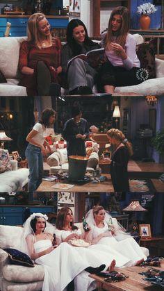 Girls nigth are the best ❤️ Friends Tv Show, Friends Cast, Friends Episodes, Friends Moments, Friends Series, Friends Forever, Best Friends, Ross Geller, Rachel Green