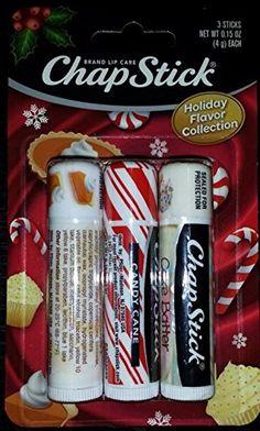 Chapstick Holiday Flavor Collection - Pumpkin Pie, Candy Cane & Cake Batter Chapstick http://www.amazon.com/dp/B00PIULEBG/ref=cm_sw_r_pi_dp_y0Lzub008MPB3