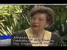 #angeles #galino carrillo - religiosa teresiana y primera mujer española catedrática de universidad por oposición.  Potenció el diálogo entre la fe y la ciencia mediante la educación y la cultura)