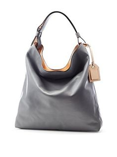 Reed Krakoff Women's Milled Leather Hobo (Pewter)