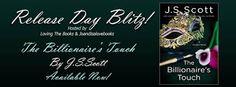 Amber Daulton: Release Blitz - 'The Billionaire's Touch' by JS Sc...