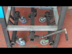 welding table on wheels Welding Bench, Welding Cart, Diy Welding, Metal Welding, Wood Shop Projects, Metal Projects, Welding Projects, Metal Working Tools, Metal Tools