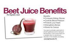 Beet Juice Benefits --