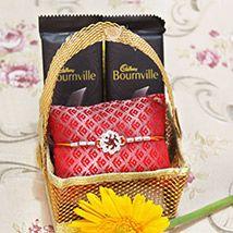 Basket of Sawstik Rakhi