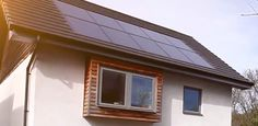 Image result for fitting solar pv to passive house roof